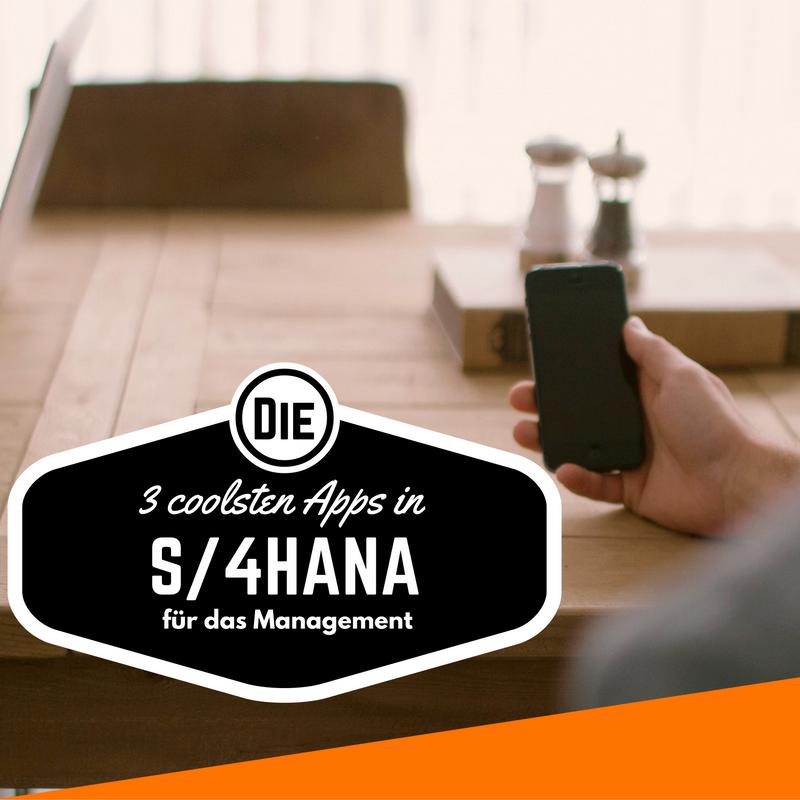 die 3 coolsten apps in s 4hana f r das management agilita. Black Bedroom Furniture Sets. Home Design Ideas